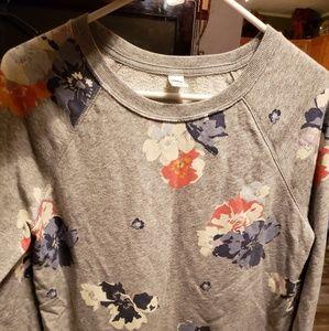 Old navy light sweat shirt